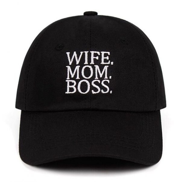 Casquette WIFE MOM BOSS /PACUDDY
